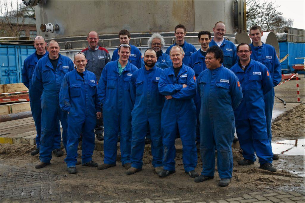 Teamfoto Oostendorp Apparatenbouw B.V.